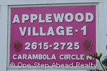 sign for Applewood I of The Township