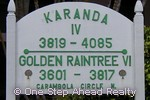 sign for Golden Raintree VI of The Township