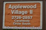 sign for Applewood II of The Township