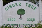 sign for Ginger Tree of The Township