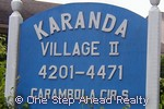 sign for Karanda II of The Township