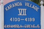 sign for Karanda VII of The Township