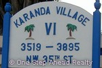 sign for Karanda VI of The Township