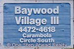 sign for Baywood Village III of The Township